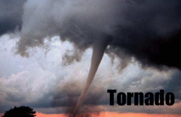 50 words for 50 states, kansas tornado