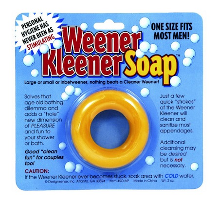 consumer products we're surprised aren't more popular, funny consumer products, awesome consumer products, weener kleener soap