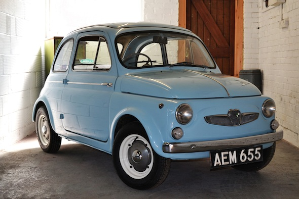 ultra rare steyr puch 500 to go under the hammer aol uk cars. Black Bedroom Furniture Sets. Home Design Ideas
