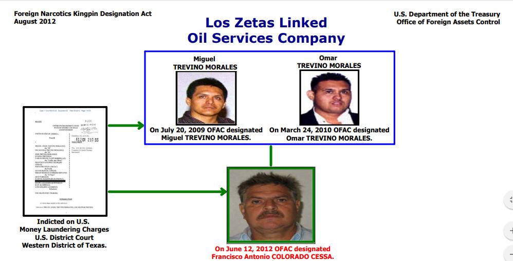 Muere 'Pancho' Colorado, mexicano acusado de lavar dinero para los Zetas