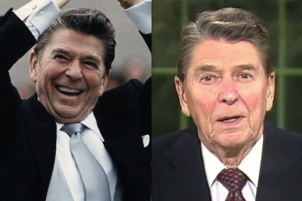 US presidents before and after term, ronald reagan