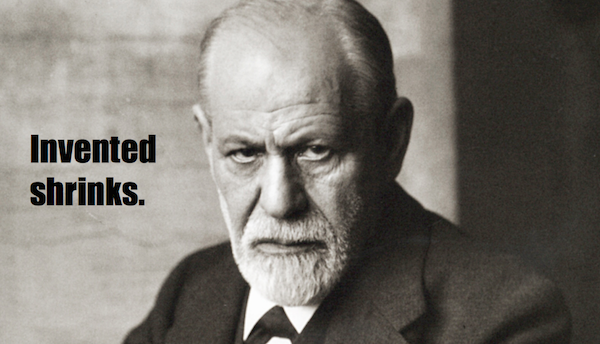 one-line summaries famous historical figures, sigmund freud