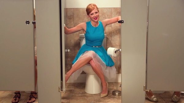 life hacks for assholes, life hacks for a-holes, woman on toilet