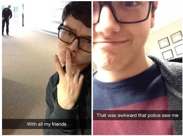 Hilarious Snapchats We're Glad Weren't Ever Deleted