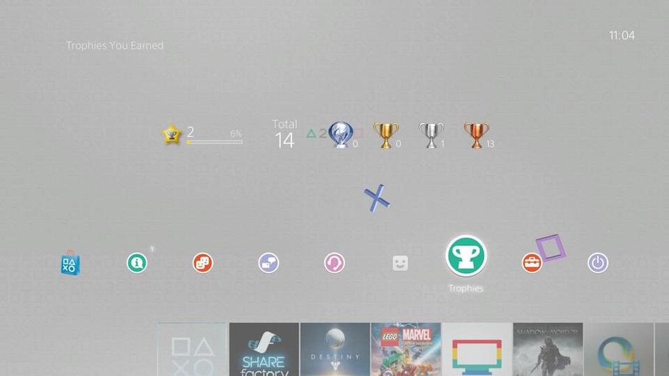 20th PlayStation Anniversary Theme