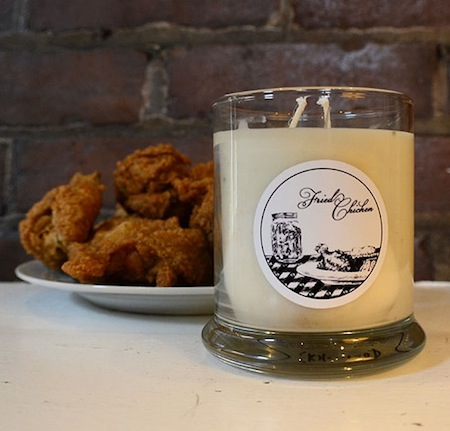 consumer products we're surprised aren't more popular, funny consumer products, awesome consumer products, fried chicken scented candle