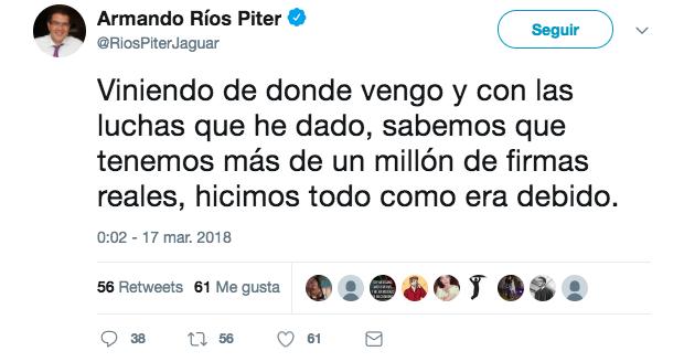 Elecciones 2018: 'El Bronco' solicita al INE su registro como candidato