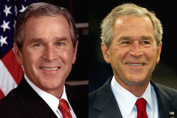 US presidents before and after term, george w bush