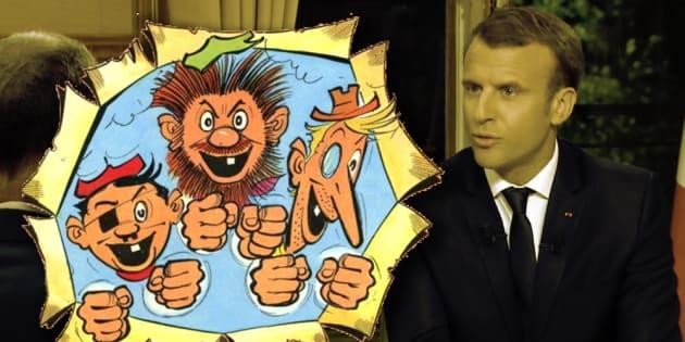 """""""Croquignolesque"""", l'expression de Macron que l'on doit aux Pieds Nickelés"""