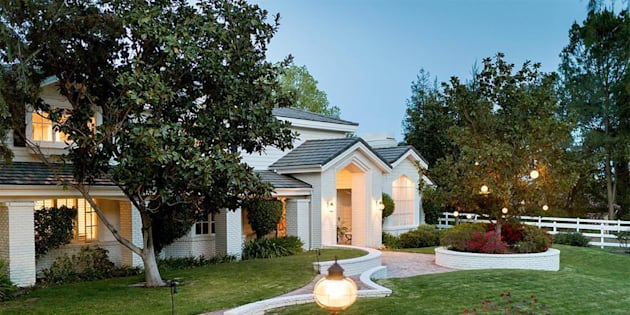 La villa d'Omar Sy à Los Angeles.