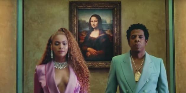 """Le clip """"Apes**t """" des Carters (Beyoncé et Jay-Z) a été tourné au Musée du Louvre en 2018."""