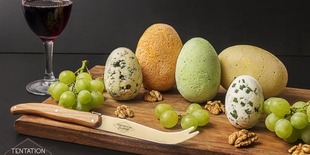 Pour Pâques, des chocolats au fromage (ou l'inverse)