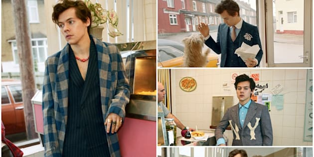 Harry Styles' Gucci Tailoring campaign is everything fashionistas hoped for.