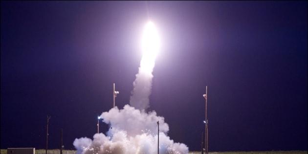 Les États-Unis ont testé un missile balistique intercontinental non armé