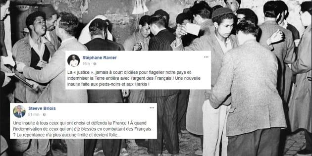 La France reconnaît un droit de pension aux victimes algériennes de la guerre d'Algérie, le FN hurle.