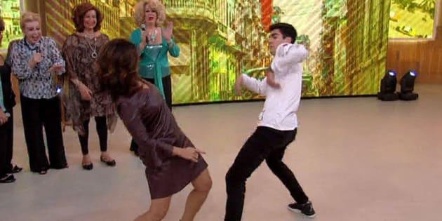 10 vezes que a Fátima Bernardes arrasou dançando no Encontro