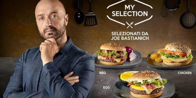 """""""Joe Bastianich pubblicizza McDonald"""