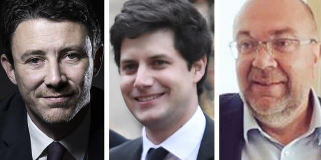 Benjamin Griveaux, Julien Denormandie et Stéphane Travert sont trois proches d'Emmanuel Macron promus dans le gouvernement Philippe 2.