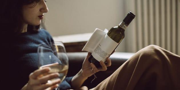 Des bouteilles de vin d'un genre nouveau.