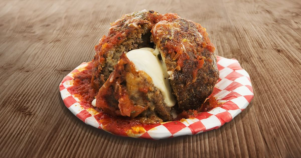 Calgary Stampede 2018 Food Includes 1 Pound Meatball Bull