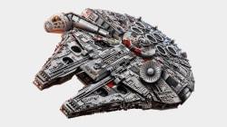 Ce Faucon Millenium est le plus gros ensemble Lego jamais