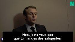 Brigitte à Emmanuel Macron: