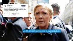 Marine Le Pen porte plainte contre l'AFP après la diffusion d'une dépêche sur les