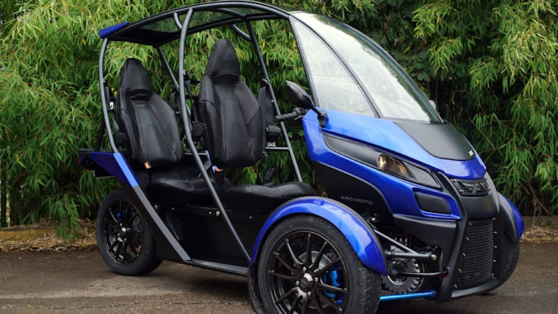 Arcimoto Generation 8 Srk Is A 3 Wheeled Lesson In