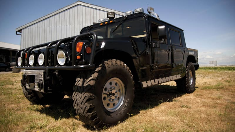 Picture yourself rolling in Tupac Shakur's 1996 Hummer | Autoblog