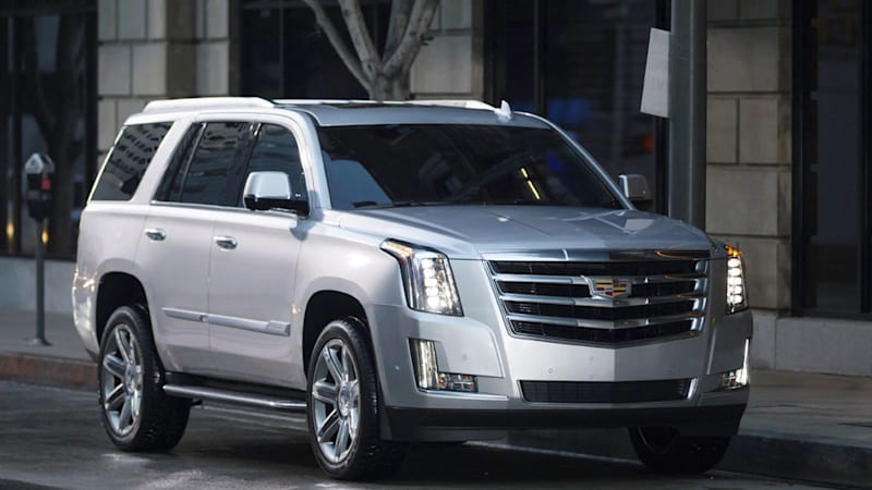2019 Cadillac Escalade Esv Quick Spin Review Autoblog