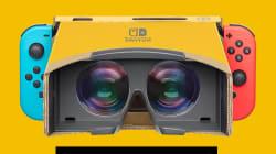 Avec la Nintendo Switch, on pourra se faire un casque VR en