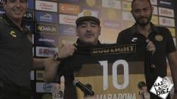 Maradona es presentado como