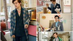 The Harry Styles Gucci Campaign Is Finally