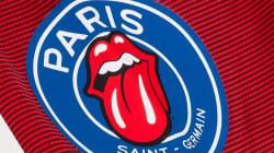 Le PSG s'associe aux Rolling Stones pour une collection de prêt-à-porter