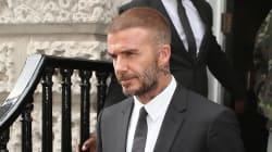 David Beckham dans