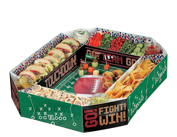 How to make a snack stadium for any Super Bowl party