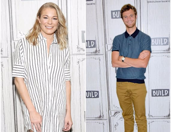 Jack Quaid and LeAnn Rimes dish about 'Logan Lucky'