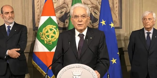 """Sergio Mattarella: """"Non l"""