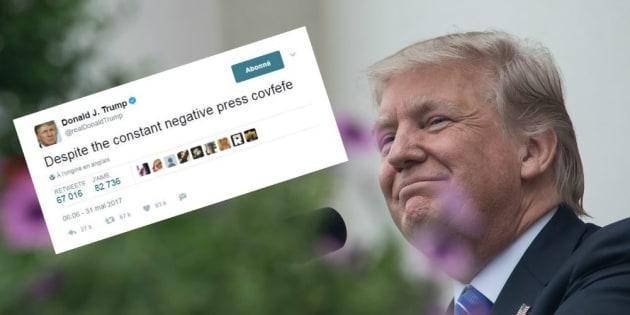 Les internautes tentent de déchiffrer un tweet obscur de Donald Trump
