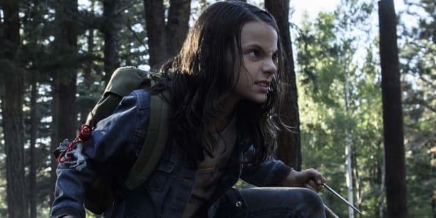 Dafne Keen Fernandez interprète une mutante aux dons similaires à ceux de Logan.