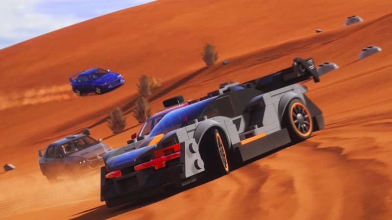 Forza Horizon 4' gets a Lego Speed Champions expansion pack