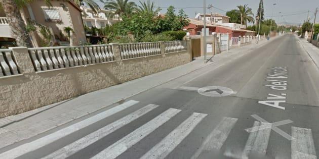 Avenida del Vincle de El Campello, lugar donde han ocurrido los hechos.