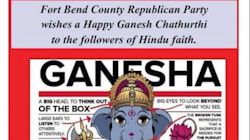 Republicans In Texas Apologize For Hindu-Themed Campaign