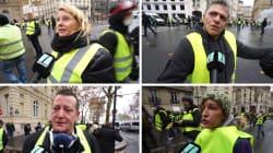 Les gilets jaunes sur les Champs-Élysées nous expliquent leurs raisons de