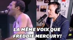 Si le sosie vocal de Freddie Mercury chante comme lui, c'est qu'il lui
