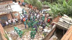 Desabamento de prédio em Salvador deixa mortos e