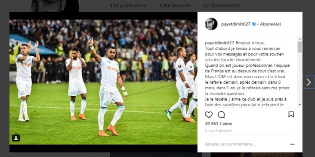 Payet s'exprime pour la 1re fois après sa non-convocation en équipe de France