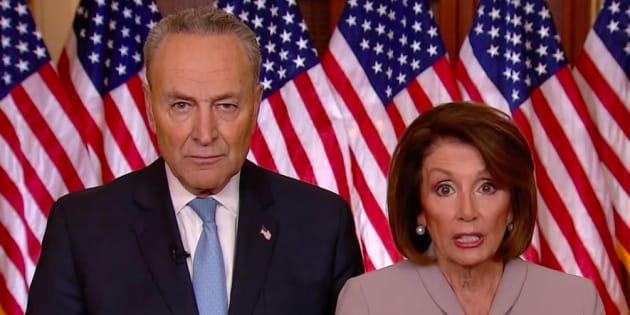 Nancy Pelosi et Chuck Schumer.