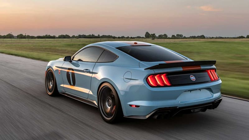 Ford Mustang Gulf Heritage Edition from Brown Lee packs 800 horsepower