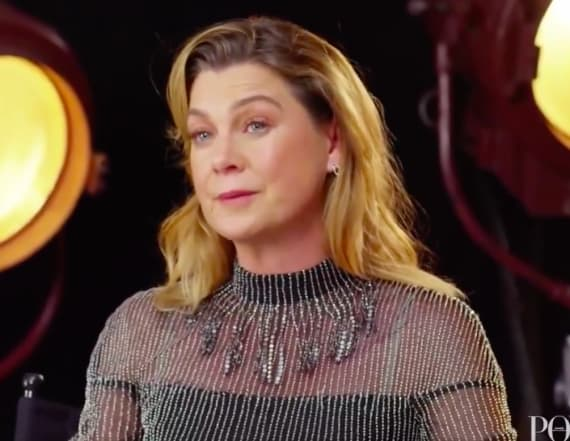 Ellen Pompeo calls out magazine mid-interview: Watch